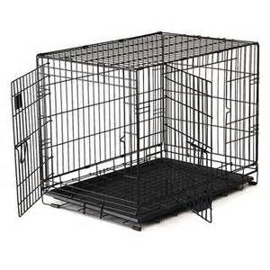 Large-Double Door Pet Crate-1079