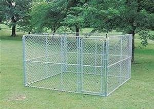 Chainlink Dog Kennel-10'x10'x6'-1083