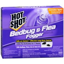 3 Pk. Hot Shot Bedbug/Flea Fogger-1352