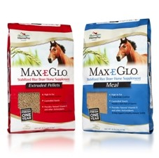 40LB Max-E-Glo Rice Bran Meal-1443