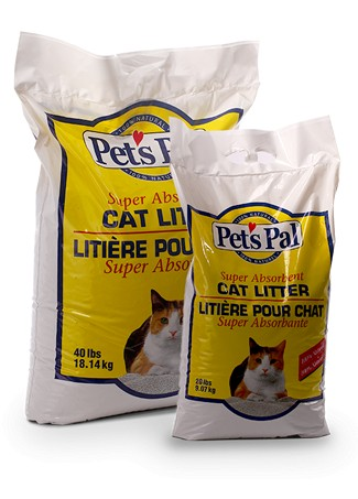 20LB Pestell Pet's Pal Traditional Clay Litter-1482
