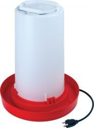 Plastic All-Season Heated Fountain 3 Gal.-1572