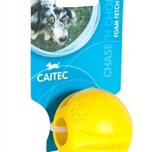 FOAM FETCH BALL YELLOW DOG TOY-278