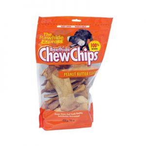 1LB CHEESE RAWHIDE CHIPS-381