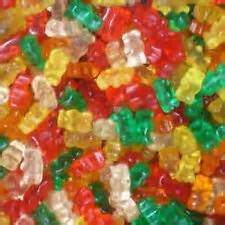 4/5LB Fruity Gummy Bears/12 Flavors-978