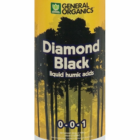 Diamond black 1 qt standish milling company for Indoor gardening nutrients