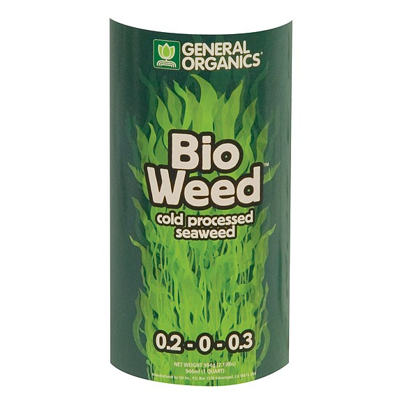 Bioweed 1 qt standish milling company for Indoor gardening nutrients