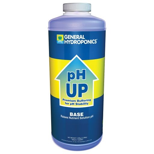 General Hydroponics pH Up, qt-1884