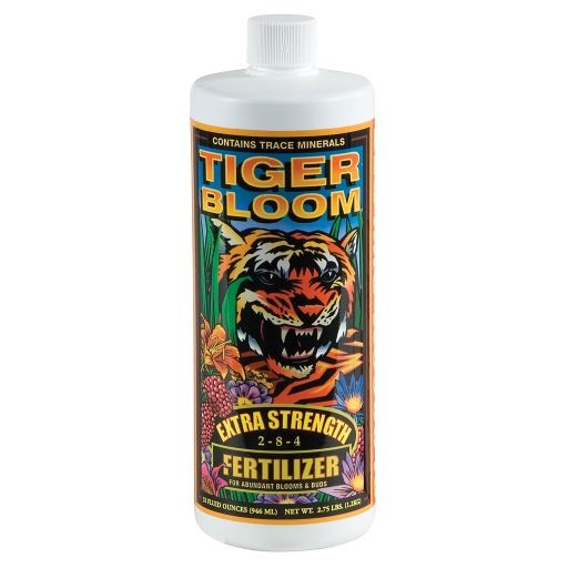 Tiger bloom qt standish milling company for Indoor gardening nutrients