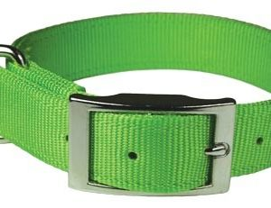 "1""x24"" Green Nylon Dog Collar-1969"