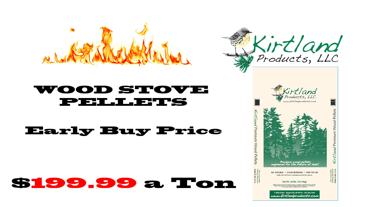 Kirtland Wood Stove Pellets