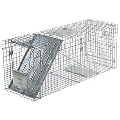 One-Door Live Animal Cage Trap - Standish Milling