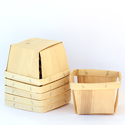 Pint Wooden Berry Baskets - Standish Milling