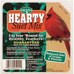 Hearty Suet Mix - Standish Milling